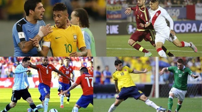 Eliminacje MŚ 2018 strefy CONMEBOL: 23 – 29 marca